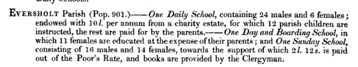 1833 education return