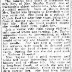 Martha Taylor Funeral