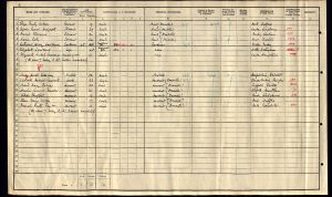 Ruth Taylor 1911 census